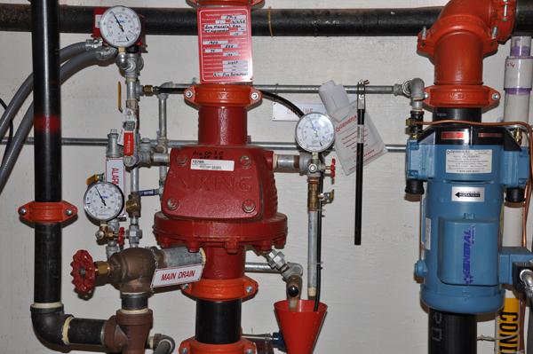 how to set up sprinkler system